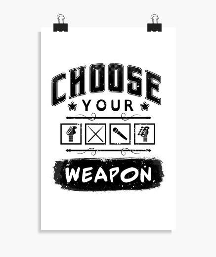Poster scegli la your arma
