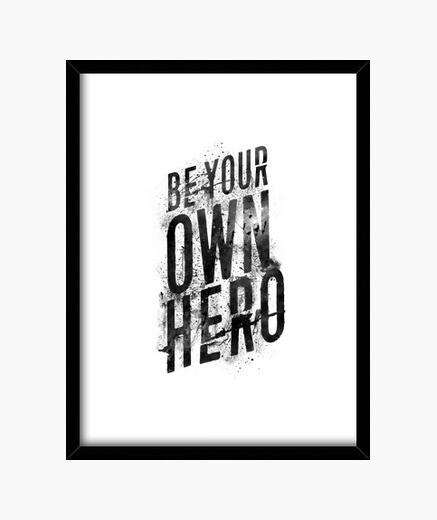Cuadro se tu propio heroe
