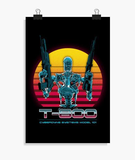 Poster série t-800