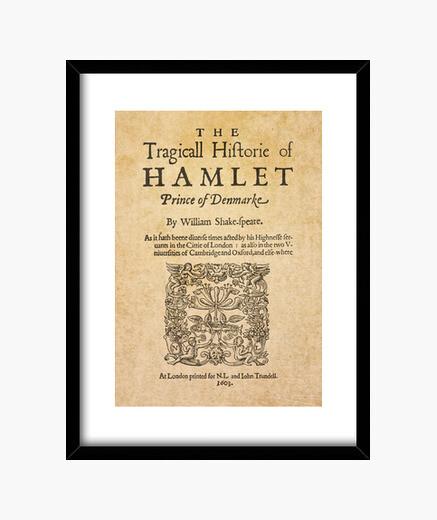 Cuadro Shakespeare, Hamlet 1603 (print)