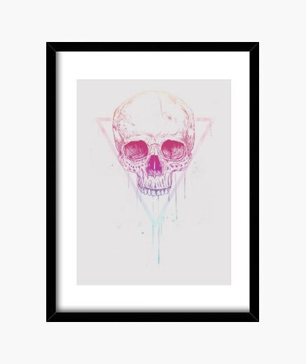 Cuadro Skull in triangle