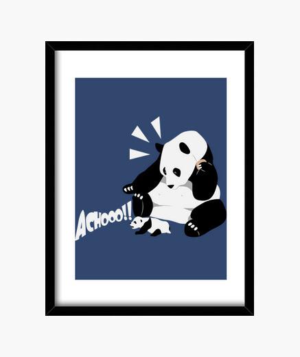 Cuadro Sneezing panda