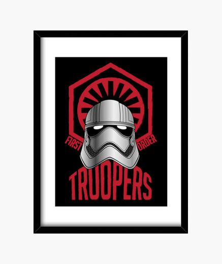 Cuadro soldados de primer orden