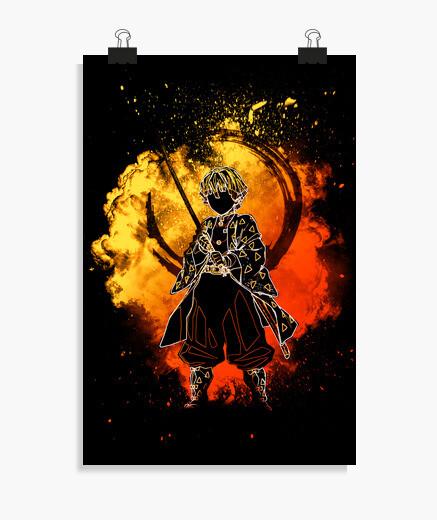Poster Soul of the Golden Hunter