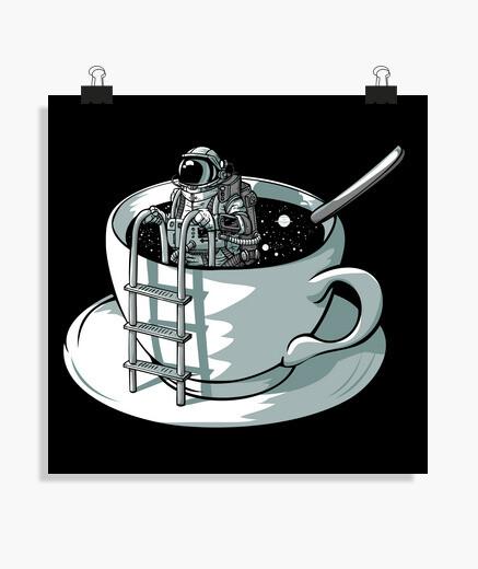 Poster spazio caffè
