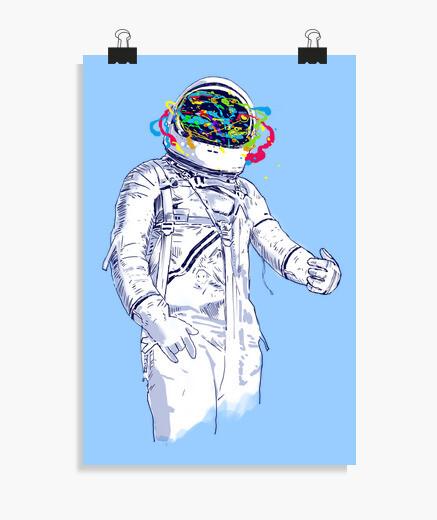 Poster spazio creativo