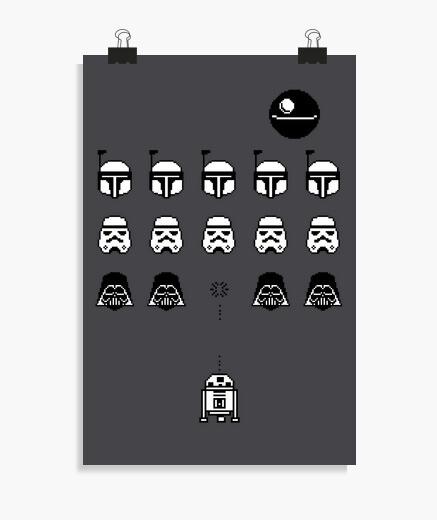Poster spazio nei vaders