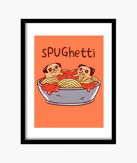 Cadre spughetti