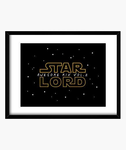 Cuadro Star Lord