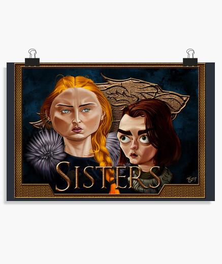 Póster Stark Sisters