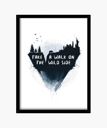 Cuadro Take a walk on the wild side