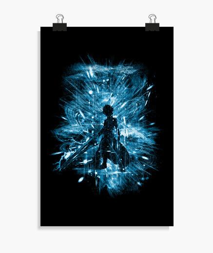 Poster tempesta d39arte di spada