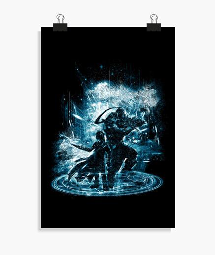 Poster tempesta di trasmutazione