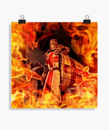 Póster Templario