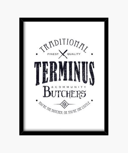 Cuadro Terminus Butchers (oscuro)