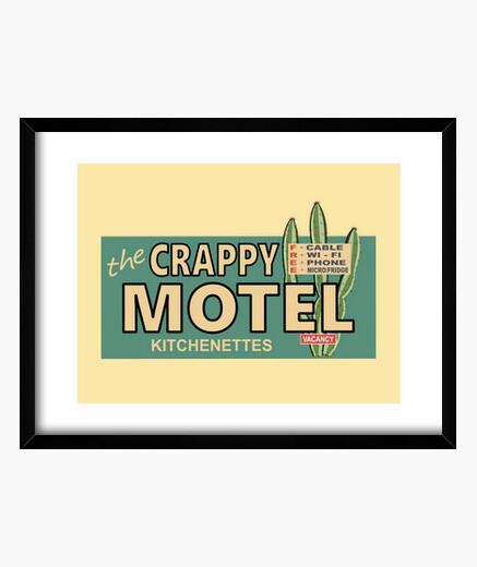 Cuadro The Crappy Motel