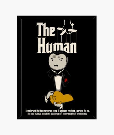 The human box framed print