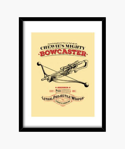 Cuadro The Mighty Bowcaster