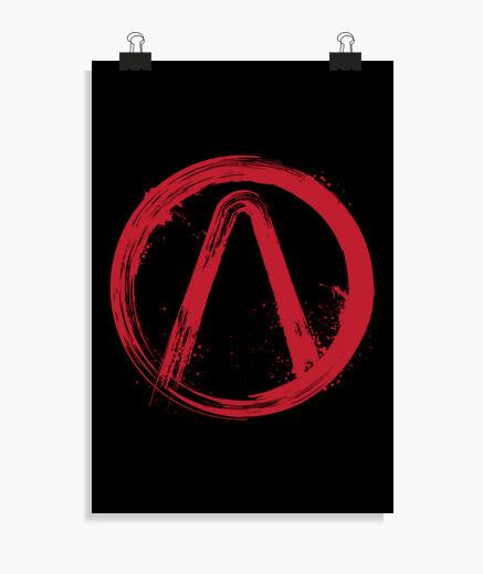 The vault symbol poster