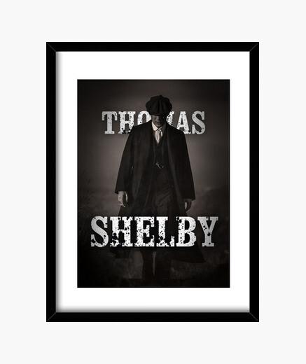 Thomas Shelby - Peaky Blinders - Cuadro vertical