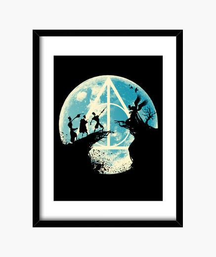 Three Brothers Fairytale framed print