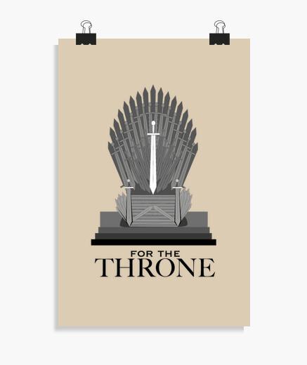 Póster Throne