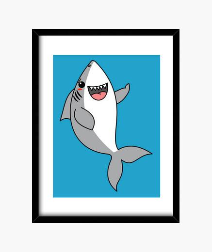 Cuadro Tiburón