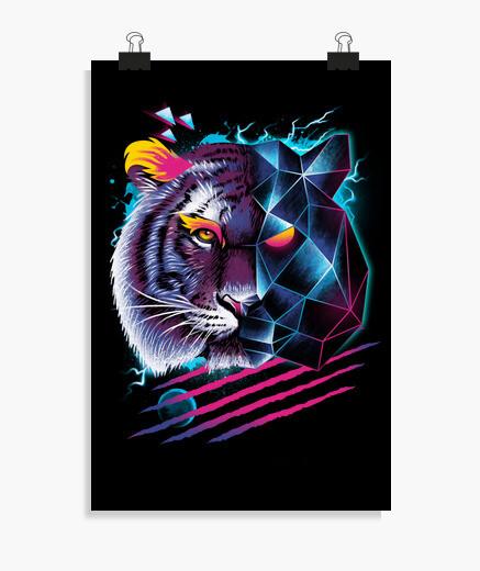 Póster tigre rad