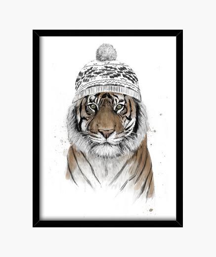 Cadre tigre sibérien
