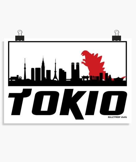 Poster tokiozilla