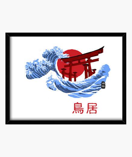 Cadre tori omotesandō