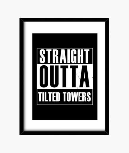 Cuadro torres rectas inclinadas