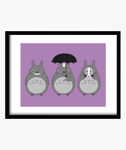 Cuadro Totoros
