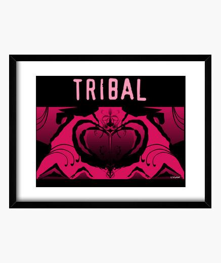 Cuadro tribal para ella