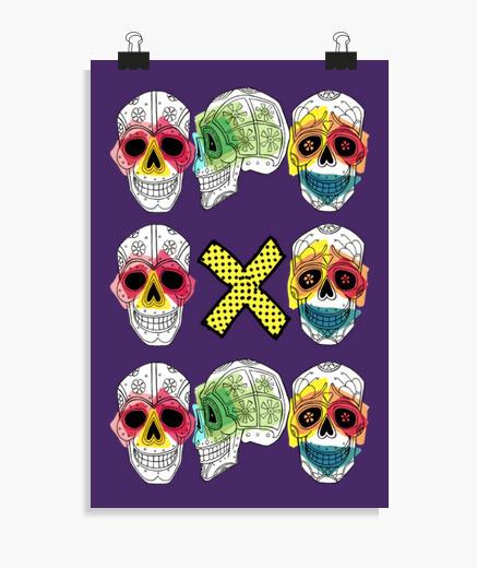 Poster trio calaverax