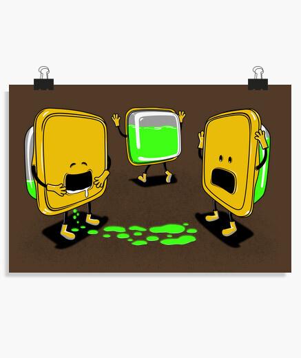 Poster tupper radioactif