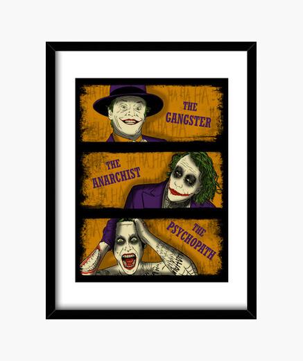 Cuadro Types of Clowns