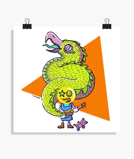 Póster Uke Dragon poster