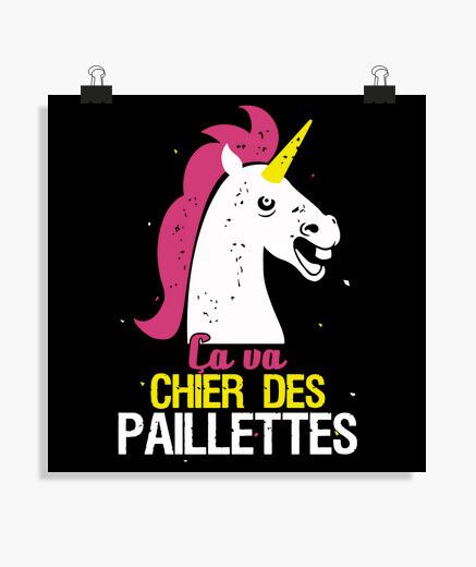 Poster unicorno