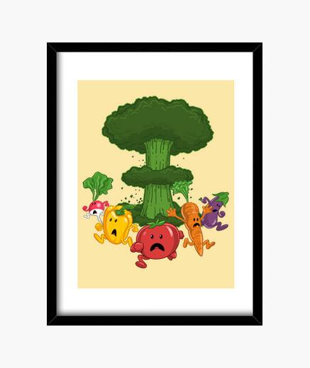 Cuadro Vegetable Armageddon