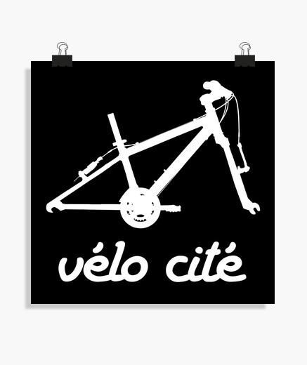 Poster Vélo cité