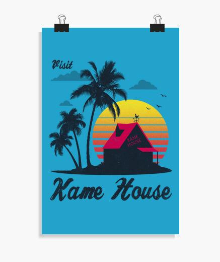 Poster visite kame house