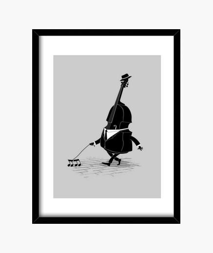 Cuadro Walking Bass