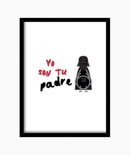 Cuadro Yo soy tu padre