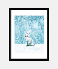 1. winter cat