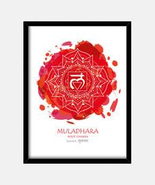 1er CHAKRA  Muladhara (blanco)