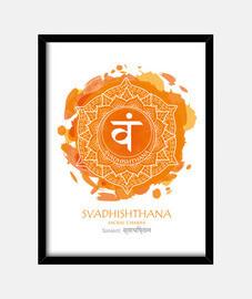 2do CHAKRA Svadhishthana (blanco)