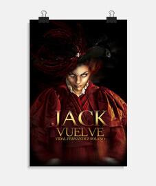 """""""Jack vuelve 02"""", Póster vertical, McHarrell original."""