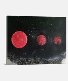 3 lunas rojas