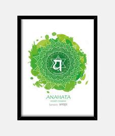 4º CHAKRA  Anahata (blanco)